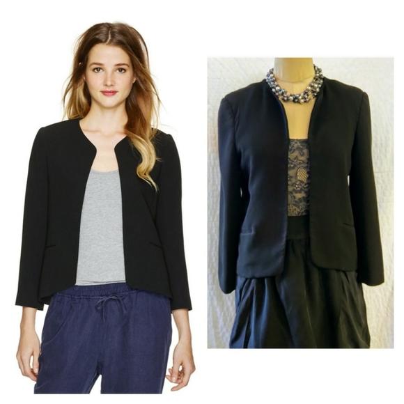 Aritzia Wilfred EXQUIS Open Style Cropped Blazer